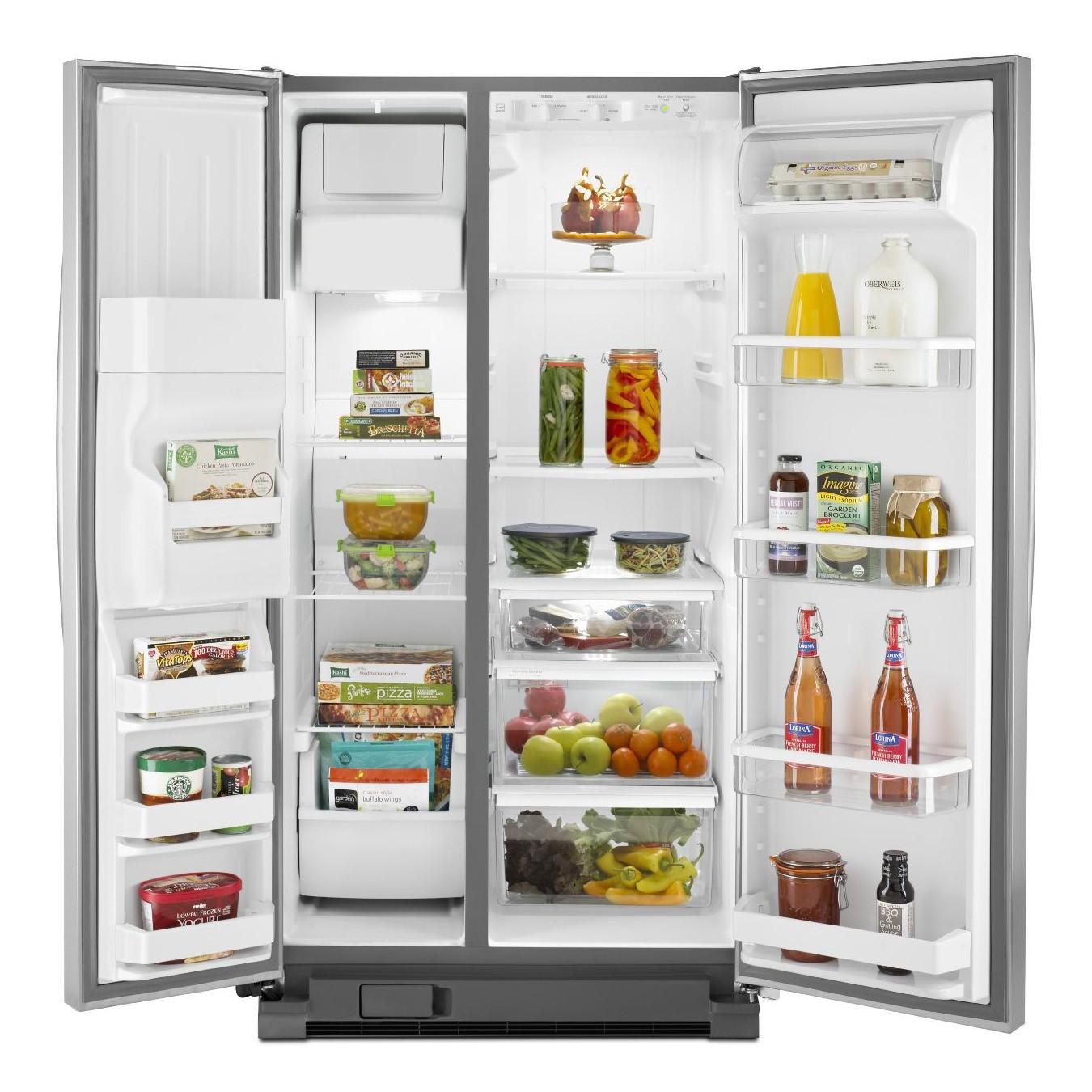 réfrigérateur whirlpool wrs325fdam - inox - electro tahiti